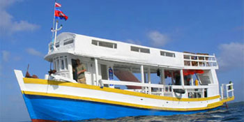 Liveaboard trips to the outer islands